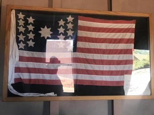 First Flag to fly over